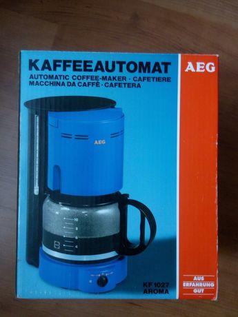 Новая кофеварка AEG из Германии