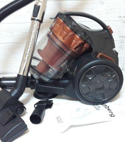 Контейнерный пылесос Blumberg DM-1602 мощный надежный колбовый