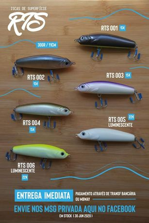 Passeantes pesca spinning