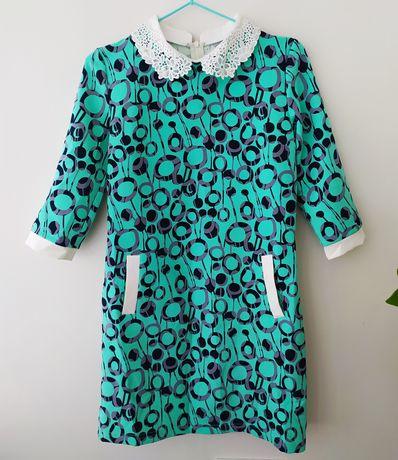 Плаття зелене на дівчинку 152 см, платье подростковое