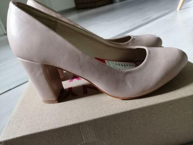 Nowe beżowe buty Jenny Fairy