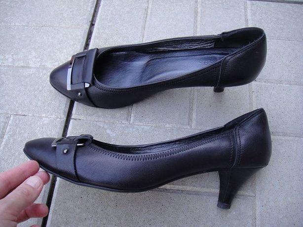 кожаные женские туфли полного 41 размера, Эрисес