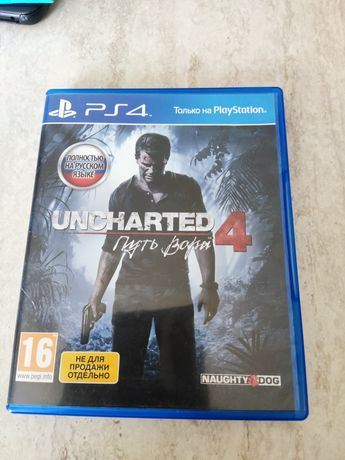Uncharted 4 Путь Вора для PS4
