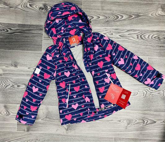 Демисезонная куртка для девочки 92-116