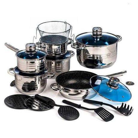 Набор Кастрюль Germany family GF2054 (Master Chef MC2019) 19 предметов