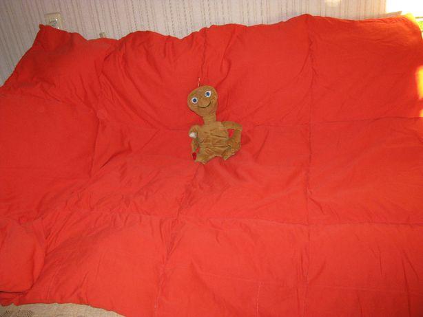 Пуховое одеяло ручной работы.
