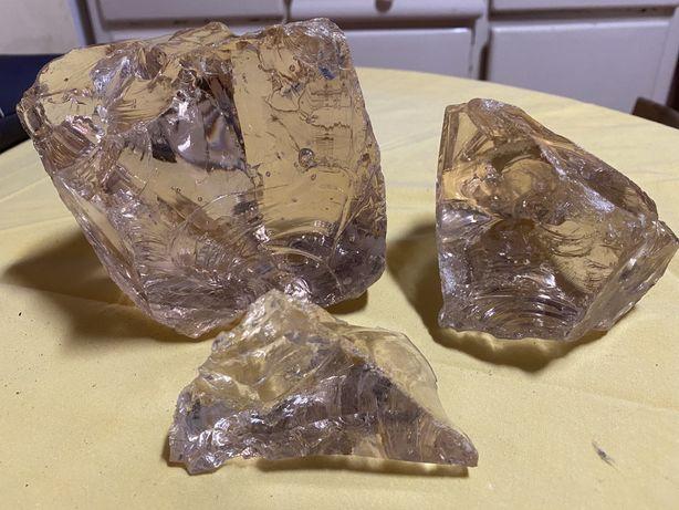 Kamień ozdobny 3 szt do akwarium