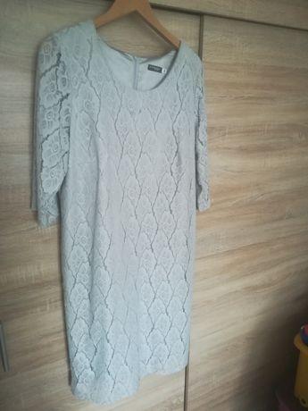Koronkowa sukienka r 46