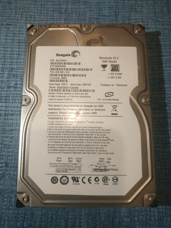 Жорсткий диск Seagate 1