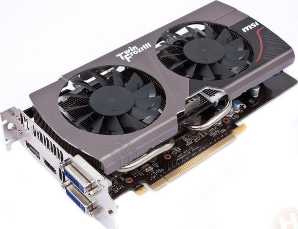 MSI GeForce GTX 660 TF 2GB не рабочая