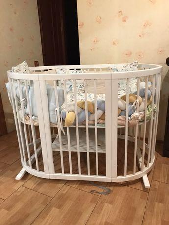 Продам детскую кроватку Ingvart 9в1