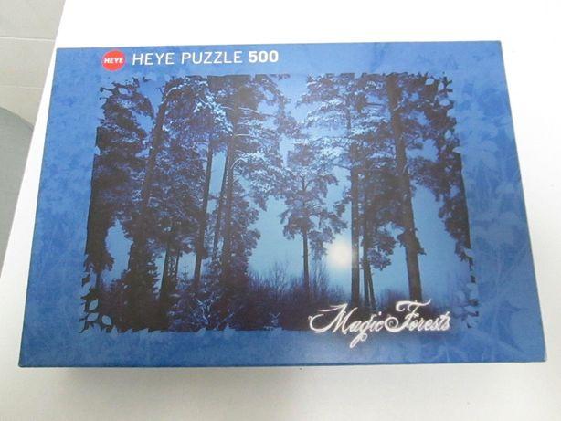 Puzzle marca Heye com 500 peças