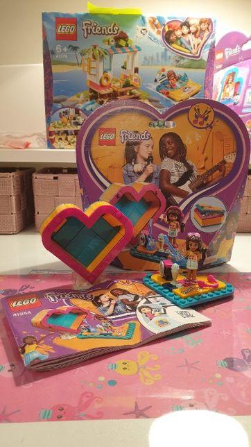 LEGO Pudełko w kształcie serca Andrei 41354