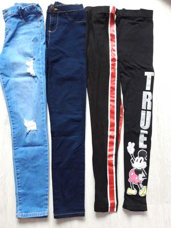 Spodnie r.146 na 1 chusteczki