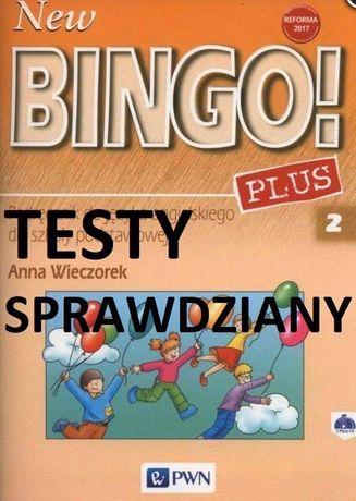 Książka New Bingo Plus testy sprawdziny klasa 2