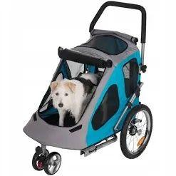 Przyczepka rowerowa dla psa Smart 2 w 1 do 30 kg