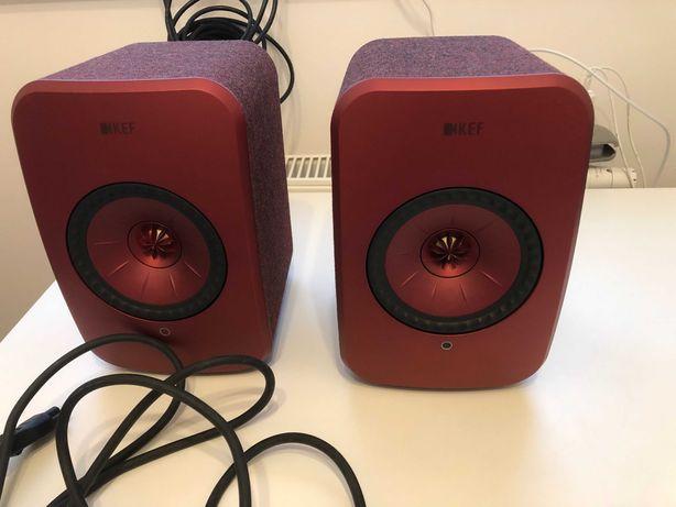 Głośniki KEF LSX + stojaki