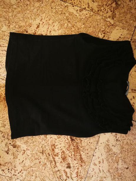Bluzeczka czarna top xs