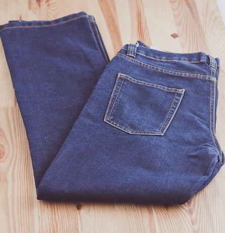Spodnie męskie jeansy niebieskie granatowe prosty klasyczny krój nowe