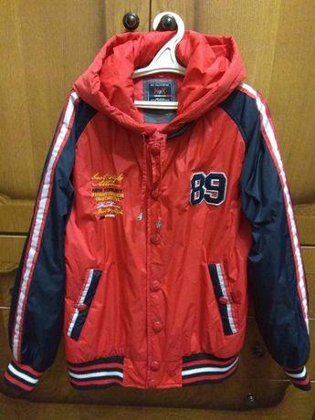 Куртка болоневая (регби) для мальчика осень - весна реглан
