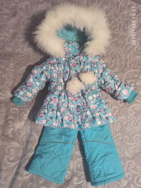 Зимний костюм (куртка и комбинезон) DONILO 80см