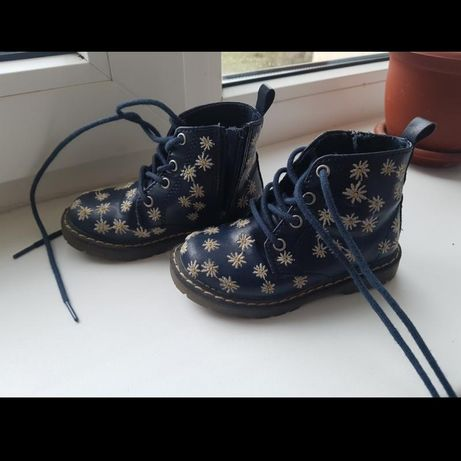 Стильные ботиночки Zara на весну-осень