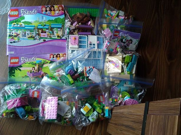 Zestaw lego friends mix