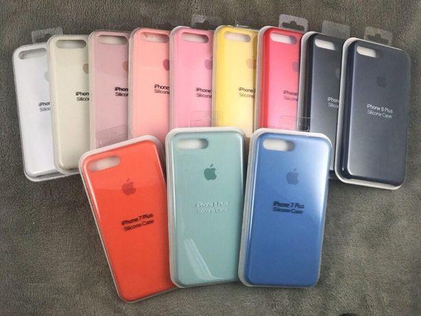 Чехол silicone case iPhone 5 6 6s 7 7+ 8 8+ x xs xr 11 pro Max розница