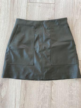 Skórzana spodnica H&M