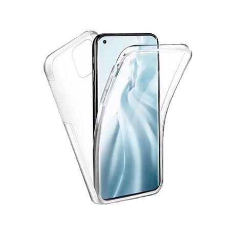 Capa 360 transparente para Xiaomi Poco F3 , Mi 11X Pro , Mi 11i , Mi 11 , Mi 11 Pro ,Mi 11 Lite , Mi 11 Ultra