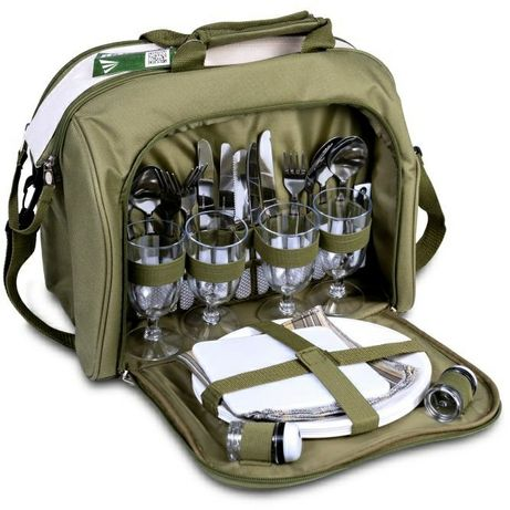 Набор посуды для пикника термо сумка Ranger Meadow