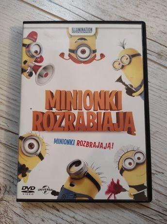 Film Minionki Rozrabiają DVD