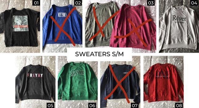 Sweaters (S/M) - TODAS 3€