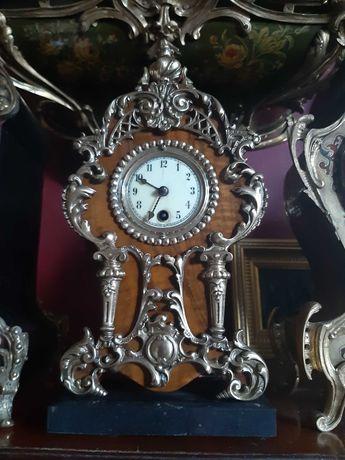 Kolekcjonerski gabinetowy zegar Gustav Becker