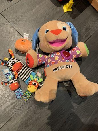 Zestaw zabawek Fisher Price szczeniaczek piesek interaktywny