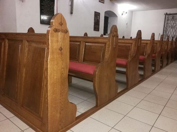 Ławy kościelne; stolarka sakralna