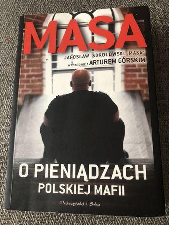 Książka Masa -O pieniądzach Polskiej Mafii