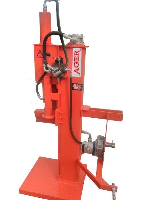 Rachador Ager Vertical 10T para tractor Aguda - imagem 1