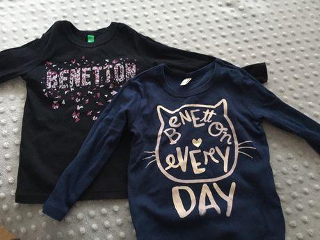Benetton bluzki roz 92