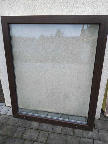Okno pcv 1000 x 1200 z demontażu.witryna