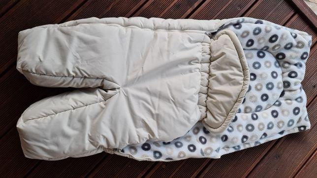 STOKKE nowy śpiwór zimowy z polarem do wózka. Super jakość!