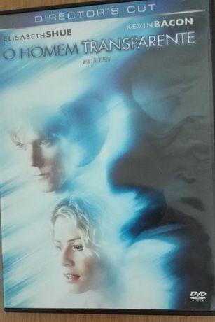 DVD O Homem Transparente (Director's Cut) - NOVO