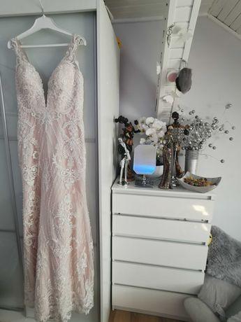 Przepiękna suknia ślubna słynnej projektantki CAMILI PIEKUT RYBKA!!