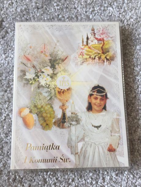 Album na zdjecia pamiatka pierwszej komunii swietej