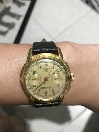 Relógio Groma Cronografo Landeron 48