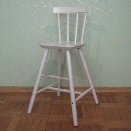 Детский стул, белый