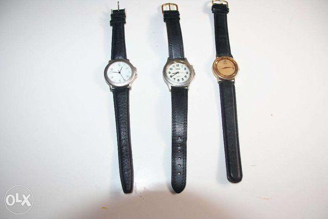 3 Relógios clásicos