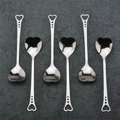 Łyżeczka łyżeczki serce 14,3 cm pomysł na prezent