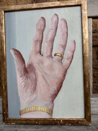 Dłoń na płycie Broskelly