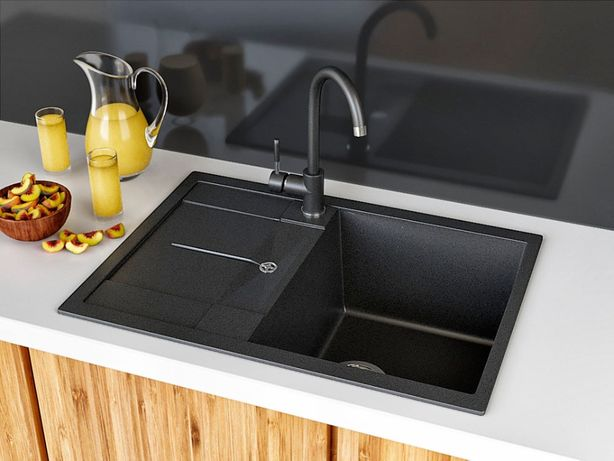 Кухонная Гранитная Мойка, Askania Napoli Compact, 3и Года Гарантии